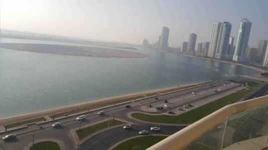 شقة 2 غرفة نوم للبيع في الخان، الشارقة - Spacious 2 Bedroom in AL MAMZER ASAS Tower High Floor