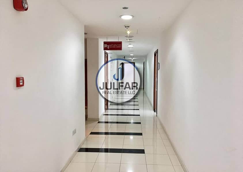 2 Partial Sea View Office FOR RENT in Julphar Tower.