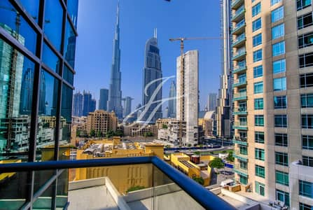 2 Bedroom Apartment for Rent in Downtown Dubai, Dubai - Burj Khalifa and Fountain View | Burj Views | 2 BR | AED 99