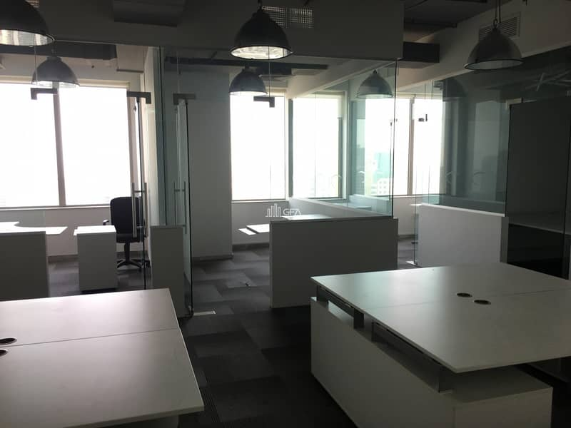 2 Fully Fitted Very Spacious Office in Business Central Towers