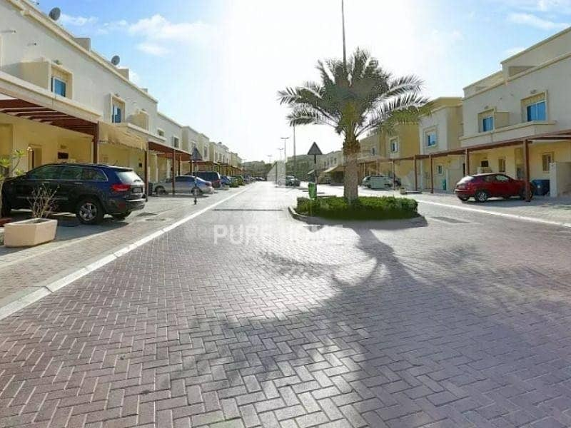 10 Perfect Investment Spacious 2 Bedrooms Villa with Garden In  Al Reef