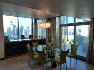 بنتهاوس 3 غرفة نوم للبيع في أبراج بحيرات جميرا، دبي - Skyline & Sea View I Penthouse I Indigo Tower