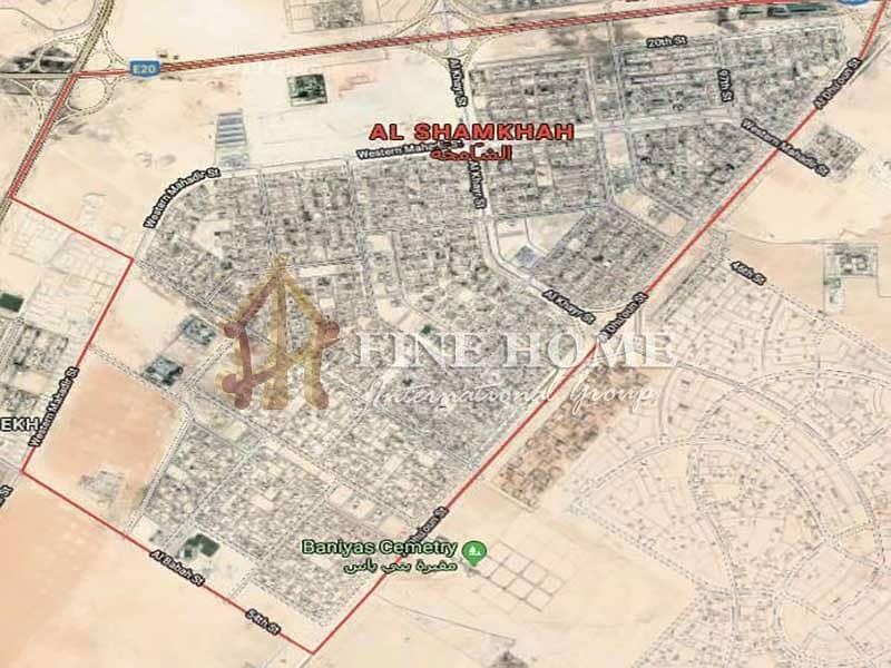 Residential land in Al Reeman . Abu Dhbai