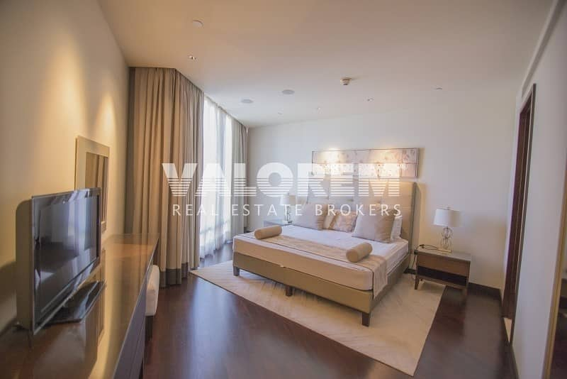 18 Apartment 2 beds / Study / High floor Burj Khalifa