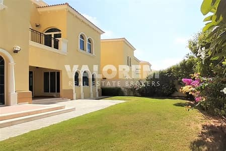 فیلا 3 غرفة نوم للايجار في جميرا بارك، دبي - Pristine Legacy villa|Best price|Garden