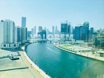 شقة 1 غرفة نوم للايجار في الخليج التجاري، دبي - Multiple Cheque  ! Fully Furnished ! Canal View