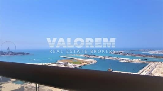 Full sea & palm view|High-end residential building