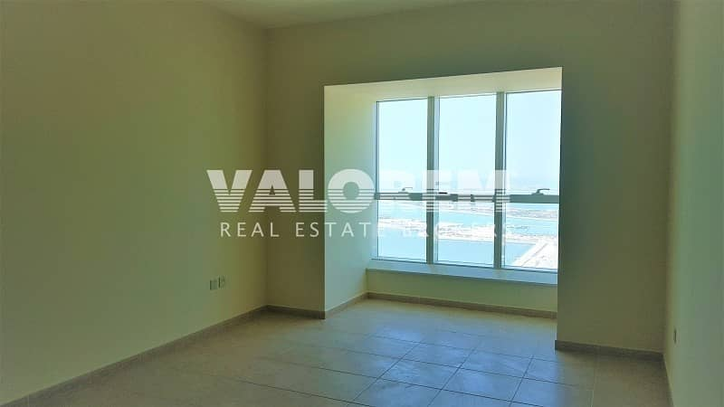 2 Full sea & palm view|High-end residential building