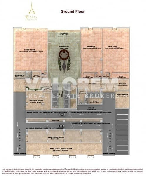 25 Full sea & palm view|High-end residential building