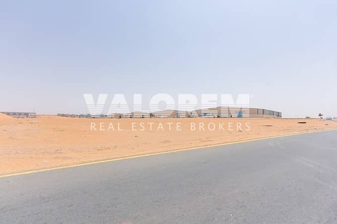 2 Large Size Rare Leasehold plot for Sale near MBZ Road UAQ