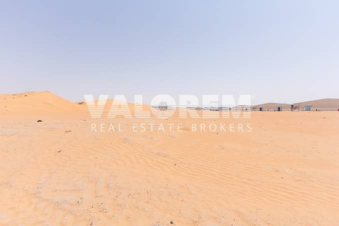11 Leasehold plot for Sale near MBZ Road in Umm Al Quwain
