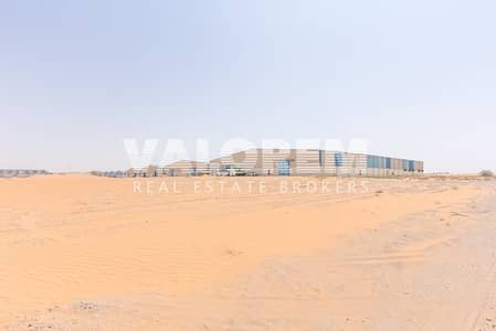 Plot for Sale in Emirates Modern Industrial Area, Umm Al Quwain - Leasehold plot for Sale near MBZ Road in Umm Al Quwain