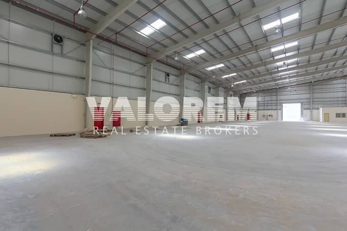 High Power(As Required) Large Warehouse for Rent in UAQ