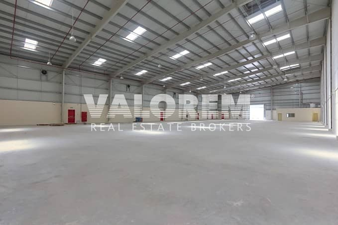 2 High Power(As Required) Large Warehouse for Rent in UAQ