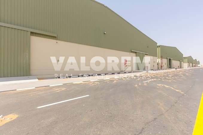 22 Brand New Small Warehouse for Rent in Umm Al Quwain