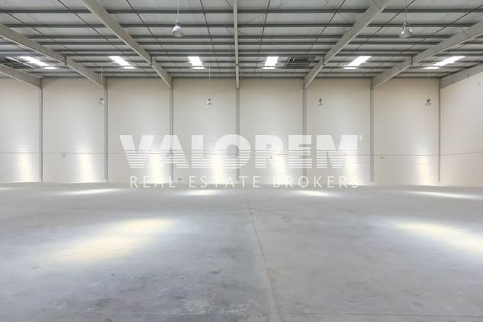 Brand New High Power Large Warehouse for Rent in UAQ