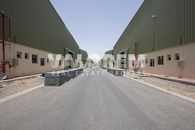 22 Brand New High Power Large Warehouse for Rent in UAQ