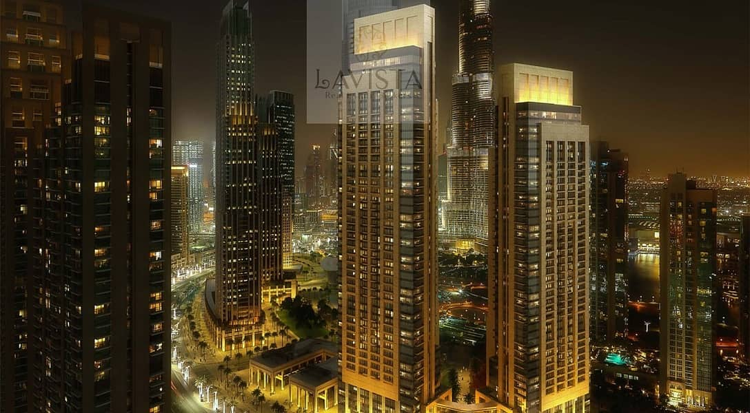 Located at the heart of the Opera District in Downtown Dubai