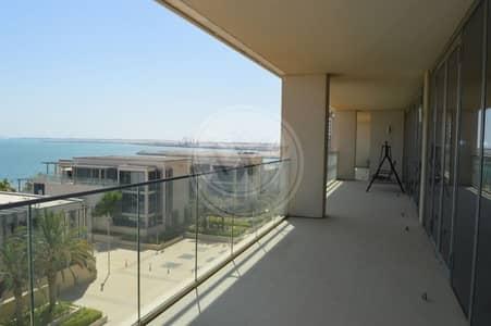 بنتهاوس 4 غرفة نوم للايجار في شاطئ الراحة، أبوظبي - Amazing sea views!|Impeccable penthouse