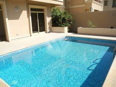 فیلا 4 غرفة نوم للايجار في حدائق الجولف في الراحة، أبوظبي - Private Pool|4 bedrooms in Golf Gardens