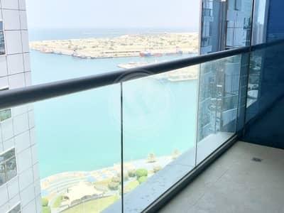 فلیٹ 2 غرفة نوم للايجار في منطقة الكورنيش، أبوظبي - Lovely 2 + 1 Apartment on the Corniche|Free A/C