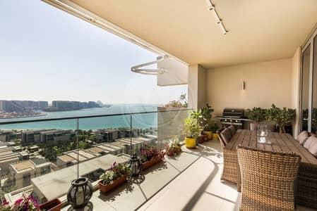 مجمع سكني  للبيع في شاطئ الراحة، أبوظبي - Uninterrupted sea views Duplex type A8 !