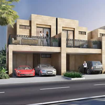 3 Bedroom Villa for Sale in Akoya Oxygen, Dubai - Spacious Villa House  in 3- Bedroom and 4-Bath with Stunning View and only 14% Down Payment By Damac Property