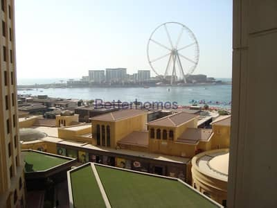 فلیٹ 1 غرفة نوم للايجار في جي بي ار، دبي - Dubai Eye View   Unfurnished   Vacant Soon