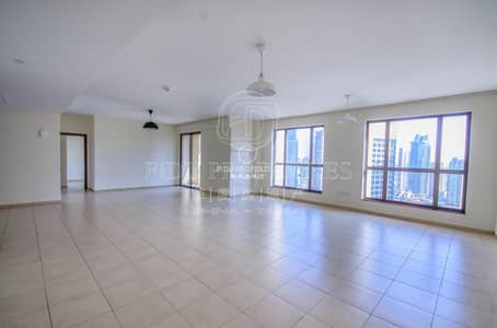 شقة 4 غرفة نوم للبيع في جي بي ار، دبي - Large 4BR + Maid | Marina View | Low Floor