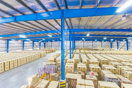 Warehouse for Sale in Jebel Ali, Dubai - Spacious Furnished Semi-fitted Warehouse