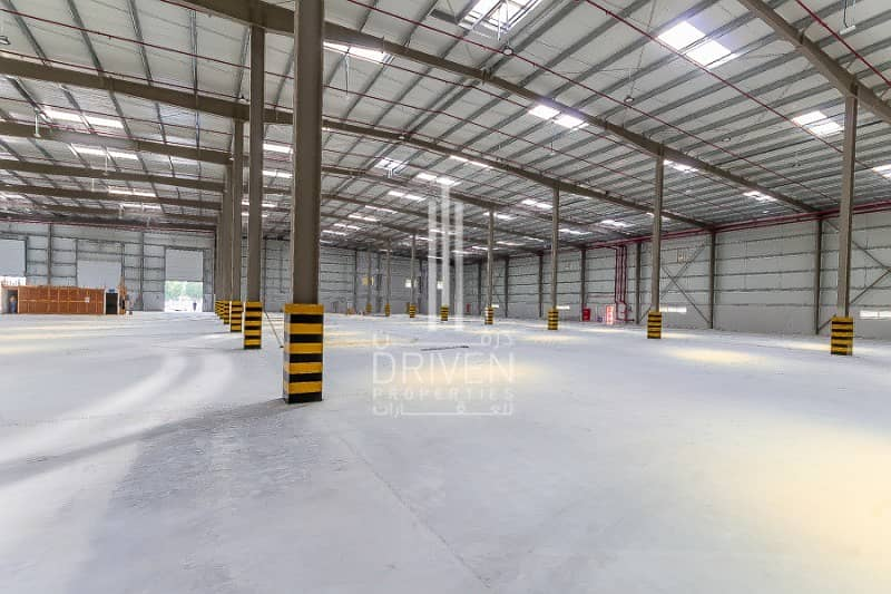10 Spacious Warehouse for Sale in JAFZA North