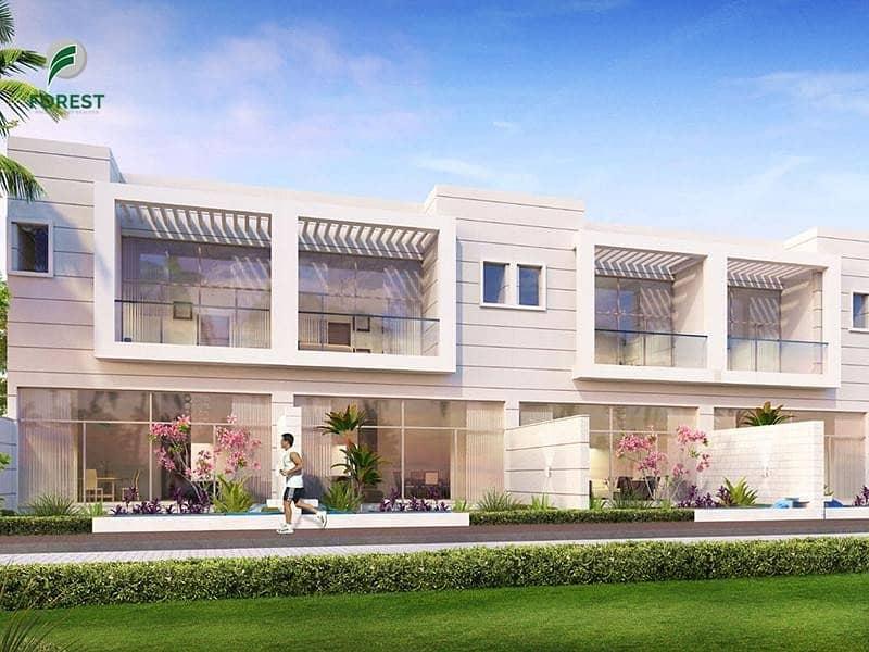 VIP Location | Four Townhouse Plot in Al Furjan