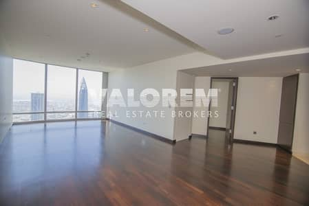 1 Bedroom Flat for Rent in Downtown Dubai, Dubai - One bedroom in Burj Khalifa Tower sea view