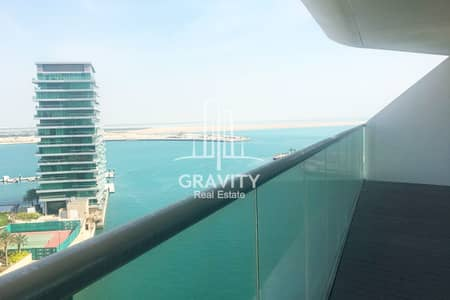 3 Bedroom Flat for Sale in Al Raha Beach, Abu Dhabi - Luxurious 3BR Apartment in Al Hadeel w/ panoramic sea view