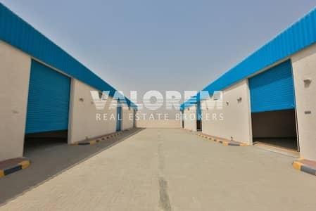 مستودع  للايجار في السجع، الشارقة - New Large Size warehouse for rent in Al-Sajah Ind. Area