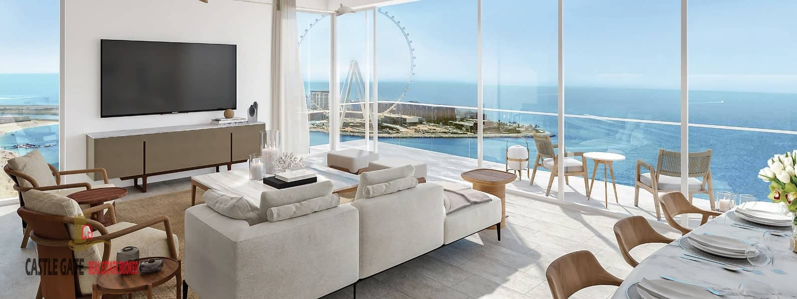 2 Luxury  1BHK With Direct Sea View