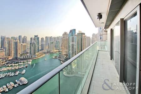 شقة 2 غرفة نوم للبيع في دبي مارينا، دبي - Full Marina View | 1700SqFt | Vacant | 2BR