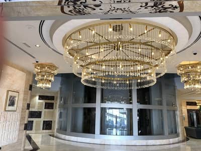 1 Bedroom Flat for Sale in Sheikh Maktoum Bin Rashid Street, Ajman - apartment for sale in conquer tower !!!