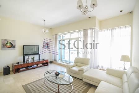 2 Bedroom Flat for Rent in Dubai Marina, Dubai - Qualitatively Furnished En Suit 2BR+Study