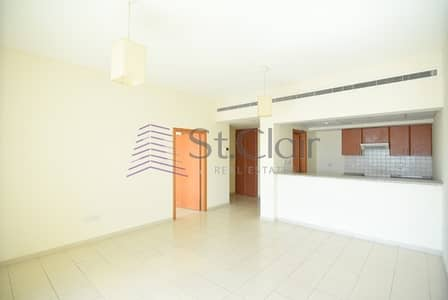 1 Bedroom Apartment for Rent in The Greens, Dubai - Well-maintained 1 Bed with Parking | Garden View