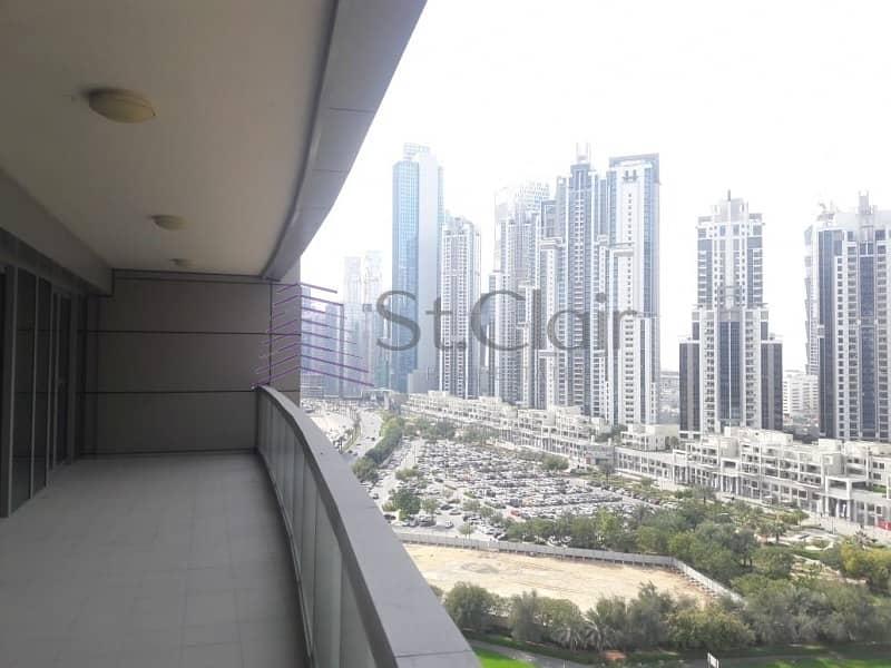 Spacious 2 Bedrooms with Huge Balcony | High Floor