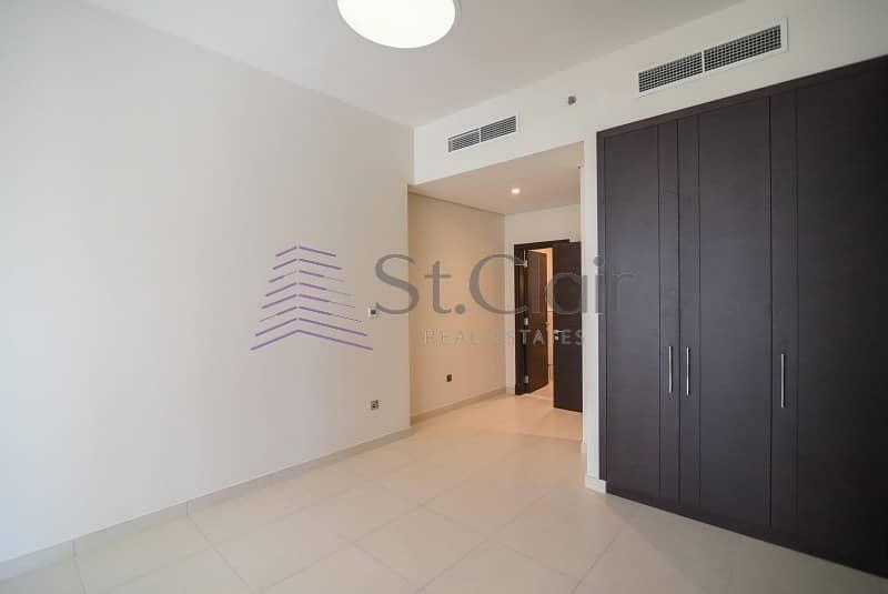 Spacious 3 Beds with Balcony + Maid | Low Floor