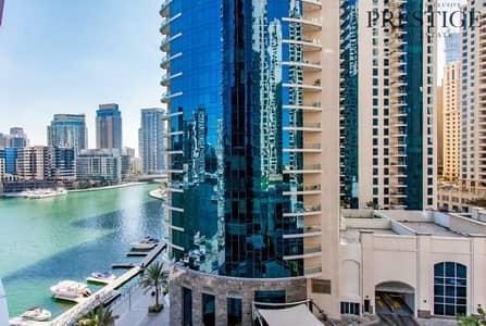 1 Bedroom Flat for Sale in Dubai Marina, Dubai - 1 Bed | Sea & Marina Views Rented | Dubai Marina