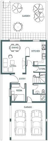 10 EXCLUSIVE | Springs 2 | 2 Bedrooms | 4M