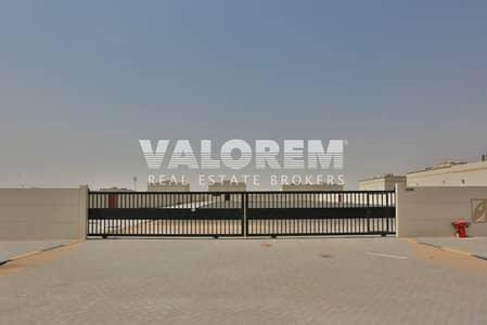 Plot for Sale in Al Saja, Sharjah - Open Yard Brand New 33