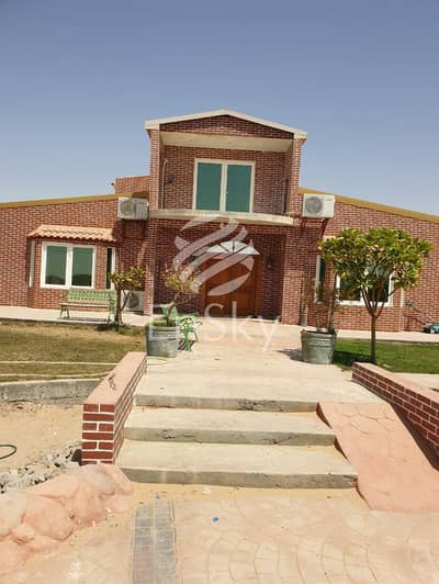 4 Bedroom Villa for Sale in Al Khatim, Al Ain - VIP Farm in Al Khatim| Fruit Farm| Private Pool|Furnished