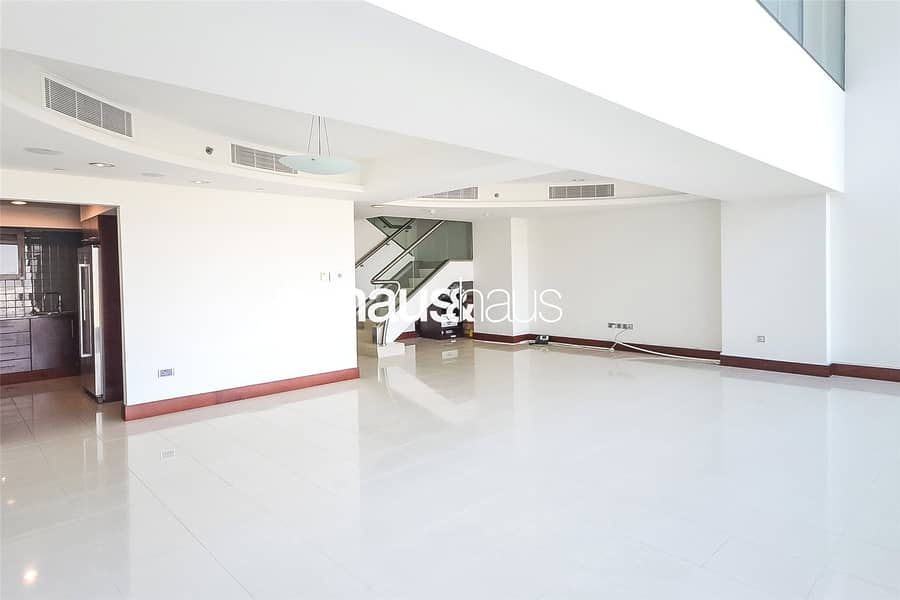 Duplex | Unfurnished | DEWA and Chiller Included