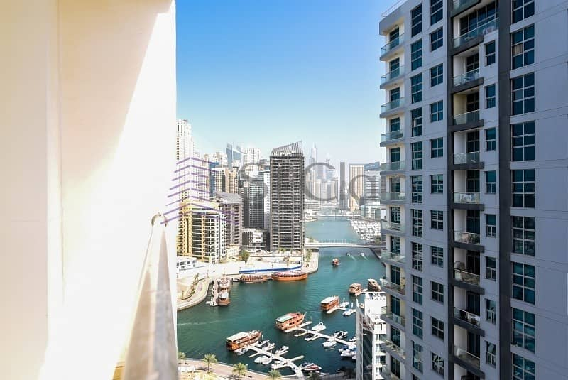 18 Chiller FREE | High Floor | Partial Marina and Sea