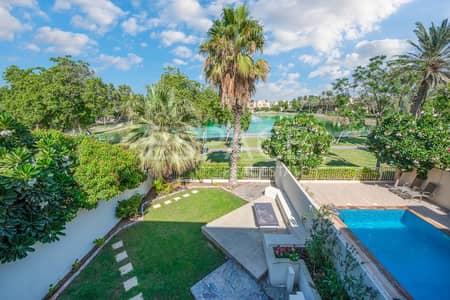فیلا 3 غرفة نوم للبيع في الينابيع، دبي - Extended and Upgraded with Stunning Lake Views