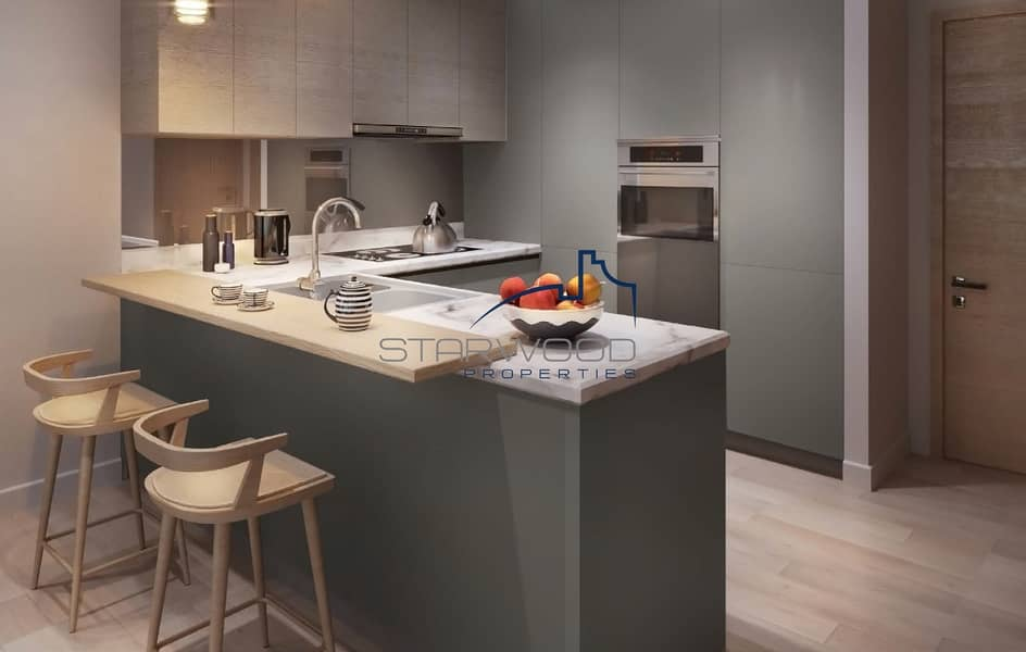 2 Equipped Kitchen Excellent Finish Studio